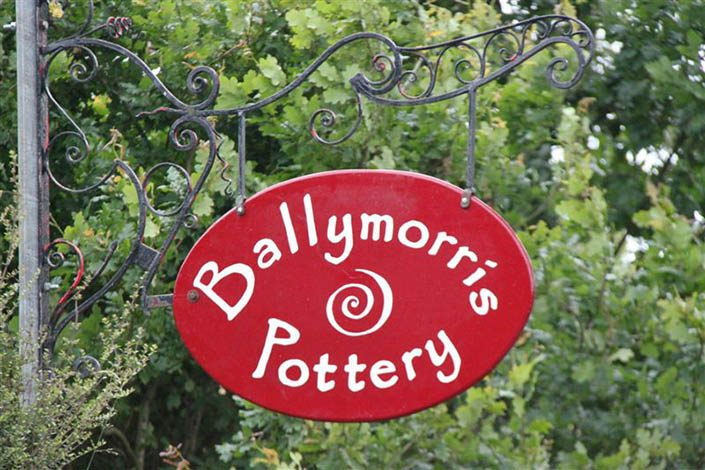 Ballymorris Pottery Sign
