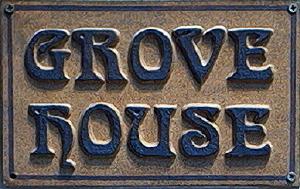 ceramic house name plaque